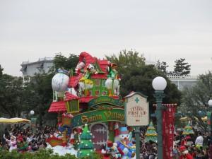 TDL【クリスマスパレード】ドナフロート1