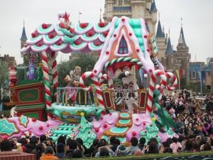 TDL【クリスマスパレード】マリーフロート