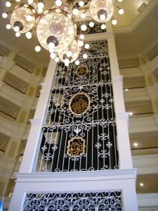 ディズニーランドホテルのエレベーター