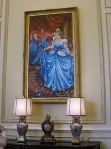 ディズニーランドホテルにある絵