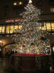 TDS【クリスマス】ハーバー夜