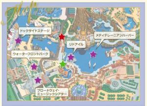 TDSショーマップ