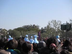 【アナ雪】グリーティングパレード1