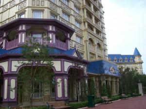 ディズニーランドホテル客室棟(パークビュー)