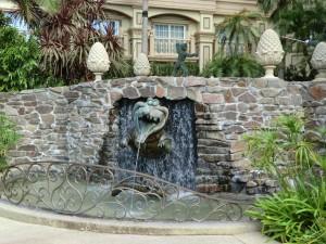 ディズニーランドホテルのプール2