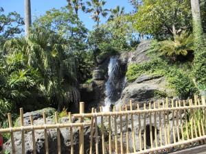 【BGM】アドベンチャーランドとウエスタンランドの境目にある滝