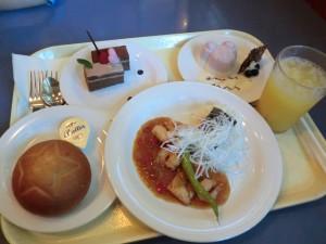 【ホライズンベイ・レストラン】メニュー例